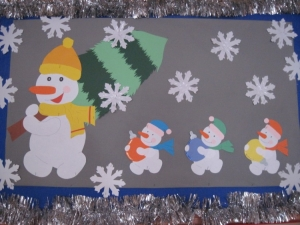 Zimowe Dekoracje W Naszym Przedszkolu Przedszkole Charbrowo
