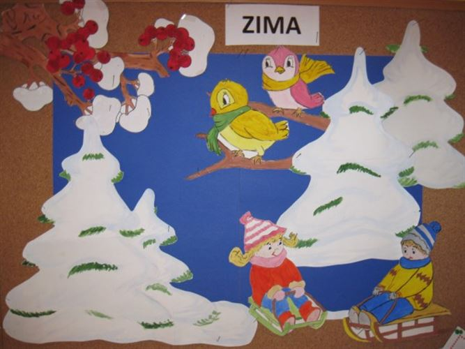 Zimowe Dekoracje Przedszkole Charbrowo